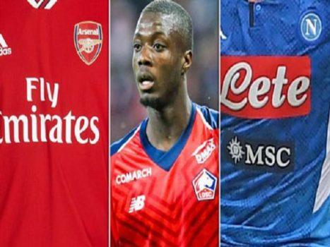 Những lý do Nicolas Pepe chọn Arsenal thay vì Napoli