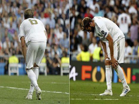 Hậu vệ Nacho dính chấn thương nặng sau trận hòa Club Brugge