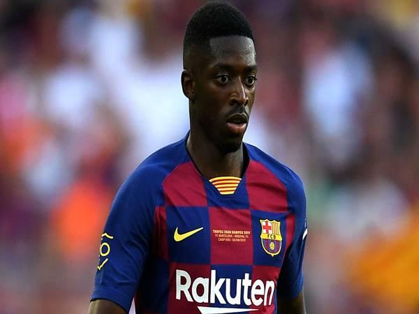 CĐV Barcelona lại một lần nữa than trời vì Ousmane Dembele
