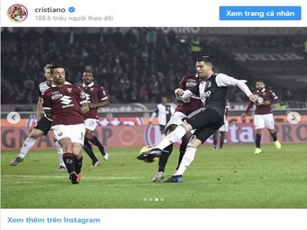 Cristiano Ronaldo dành tặng món quà vô cùng ý nghĩa cho Juventus