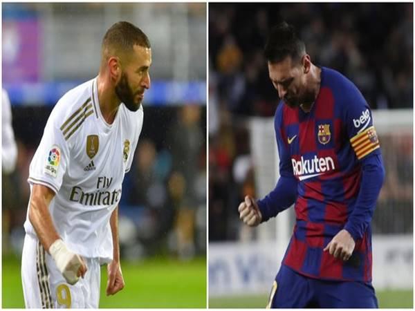 Karim Benzema vượt mặt Messi sau khi giúp Real thắng Eibar