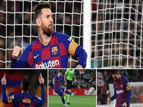 Lionel Messi đạt hiệu suất đáng nể trong sự nghiệp bóng đá