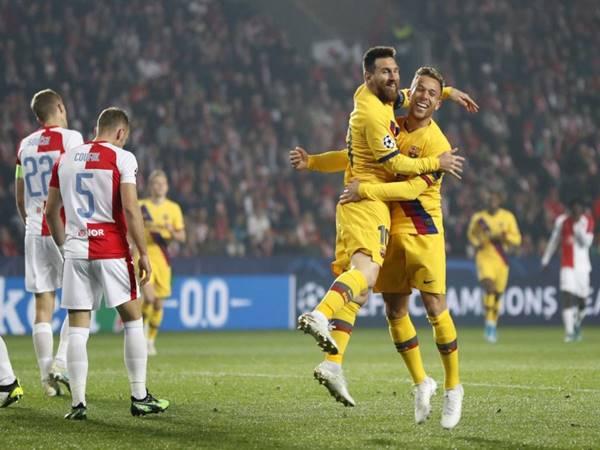 Nhận định tỷ lệ trận Barcelona vs Slavia Praha (00h55 ngày 6/11)