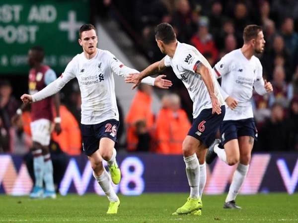 Nhận định tỷ lệ Aston Villa vs Liverpool (2h45 ngày 18/12)