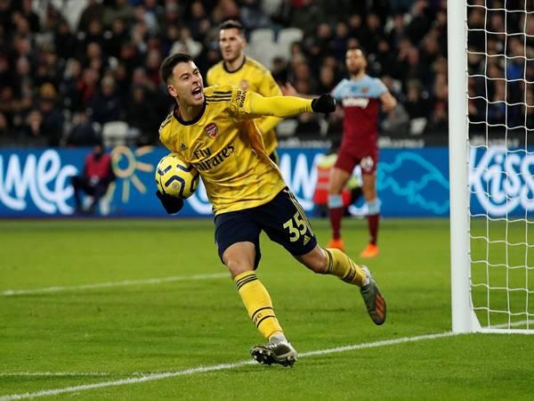 Tân binh Gabriel Martinelli nổ súng giúp Arsenal giành chiến thắng