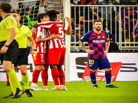 Lionel Messi không hài lòng với thái độ thi đấu của đồng đội