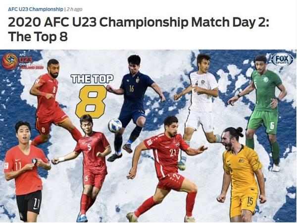 Tiền vệ của U23 Việt Nam được báo Châu Á bình chọn cầu thủ nổi bật