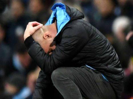 HLV Pep Guardiola thừa nhận không thể tranh đua ngôi vô địch nữa