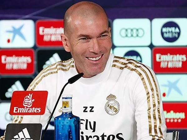 HLV Zidane quyết tâm giúp Real Mandrid đánh bại Atletico