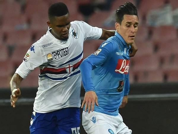 Nhận định trận đấu Sampdoria vs Napoli (2h45 ngày 4/2)