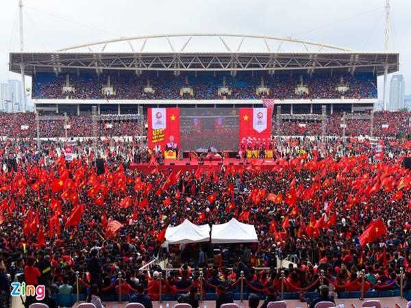 Tuyển Việt Nam vẫn được đá trên sân Mỹ Đình giải AFF Cup