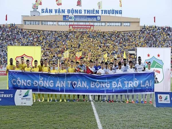 CLB Nam Định xứng đáng giành chiến thắng trước đội bóng Phố núi