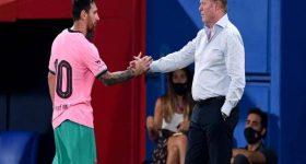 Tin bóng đá chiều 21/10: HLV Koeman: 'Tôi không phàn nàn gì về Messi'