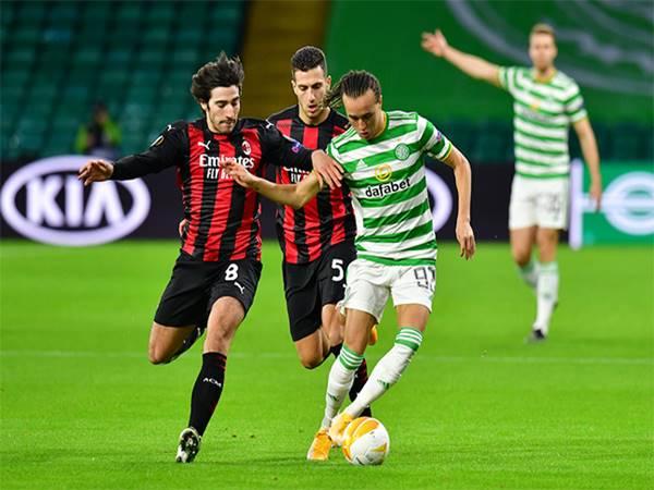 Nhận định kèo Châu Á AC Milan vs Celtic (00h55 ngày 4/12)