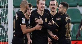 Bóng đá La Liga 27/1: Barca vẫn ca khúc khải hoàn để trở lại Top 3