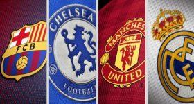 Top những câu lạc bộ bóng đá nổi tiếng nhất thế giới hiện nay