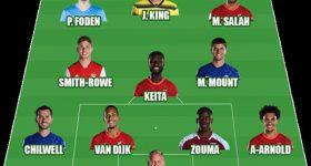 Bóng đá Anh 26/10: Liverpool áp đảo ĐHTB vòng 9 Ngoại hạng Anh
